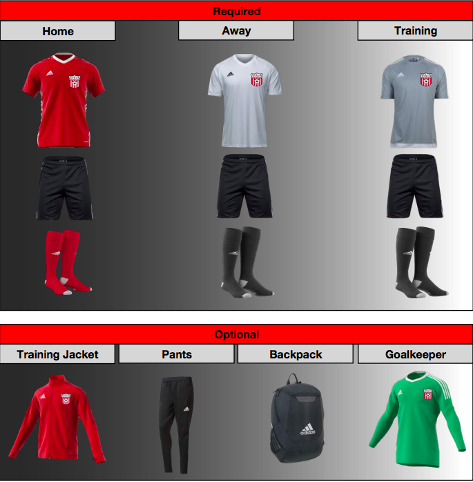 VYS Uniform Kit 2017